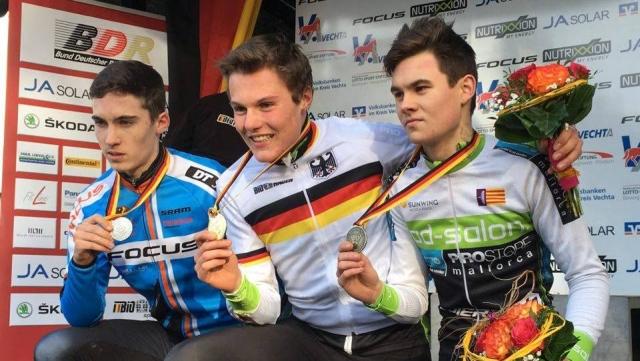 Maximilian Möbis ist Deutscher Meister im Cyclocross